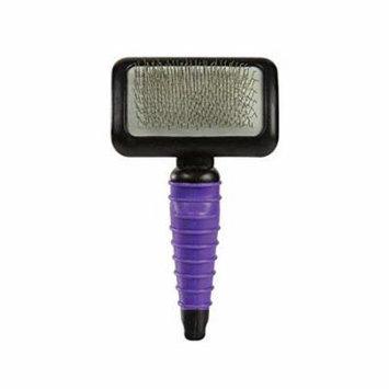 DOG BRUSH Professional Purple Ergonomic Slicker 4 Sizes to Choose or Kits Too!(Brush - Large)