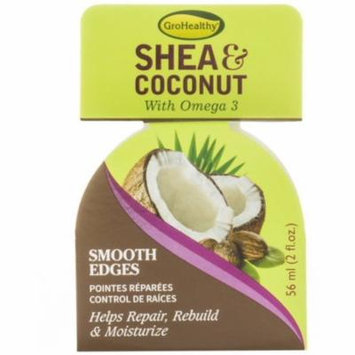 2 Pack - Sofnfree GroHealthy Shea & Coconut Smooth Edges 2 oz