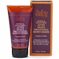 6 Pack - Shea Moisture Honey & Black Seed After Shave Smoothing Moisturizer 4 oz