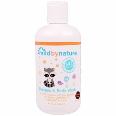 Mild By Nature, Shampoo & Body Wash, Coconut Cream, 8.8 fl oz (pack of 12)