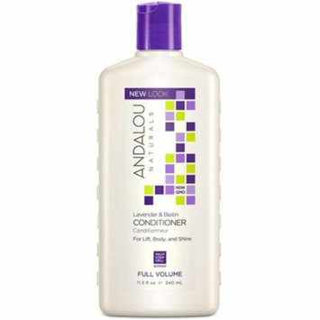 3 Pack - Andalou Naturals Full Volume Conditioner, Lavender & Biotin 11.50 oz