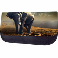 African Elephant Jacks Outlet TM Nylon-Lined Cosmetic Case