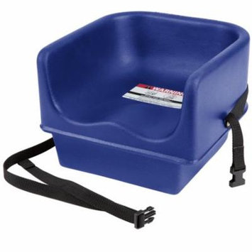 TableTop King 100BCS Navy Blue Single Seat Booster Chair with Strap