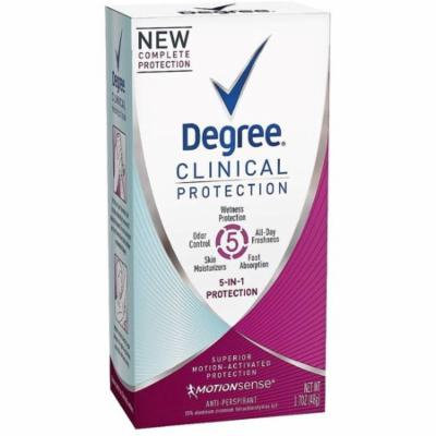 3 Pack - Degree Clinical Protection 5-in-1 Antiperspirant 1.70 oz