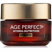4 Pack - L'Oreal Paris Age Perfect Hydra-Nutrition Eye Cream 0.5 oz