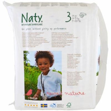 Naty, Diapers, Size 3, 9-20 lbs (4-9 kg), 31 Diapers(pack of 2)