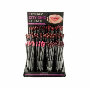 City Color City Chic Lip Liner Countertop Display