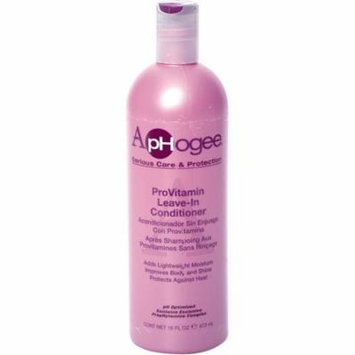2 Pack - Aphogee Pro-Vitamin Leave-In Conditioner 16 oz
