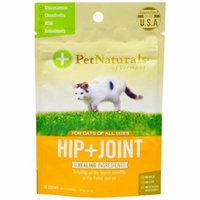 Pet Naturals of Vermont, Hip + Joint, Chews For Cats, 30 Chews(pack of 1)