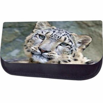 Snow Leopard Jacks Outlet TM Nylon-Lined Cosmetic Case