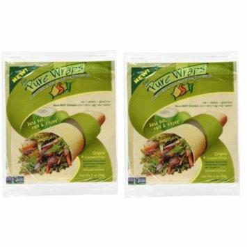 Coconut Wraps Original Flavor, 4 per pack, 2 oz (2 Pack)