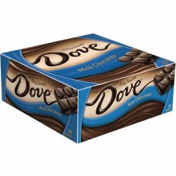 3 Pack - Dove Silky Smooth Bar, Milk Chocolate 18 ea