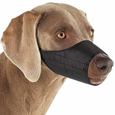 NYLON LINED MUZZLES for DOGS 3 Colors 9 Sizes Soft Dog Muzzle Collection(5