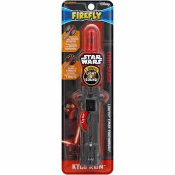 2 Pack - Firefly Star Wars Lightsaber Toothbrush, Kylo Ren 1 ea