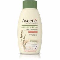 3 Pack - AVEENO Active Naturals Daily Moisturizing Body Yogurt Body Wash, Apricot & Honey 12 oz