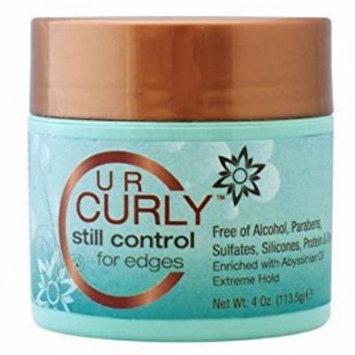 4 Pack - U R Curly Still Control for Edges 4 oz