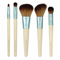 EcoTools, Stay Matte & Beautiful Brush Collection, 5 Piece Set(pack of 2)