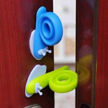 Womail Baby Safety Snail Shape Finger Safety Door Stopper Protector Children