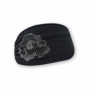 Harley-Davidson Women's Embellished Krystal Skull Headband Scrunchie HE26530, Harley Davidson