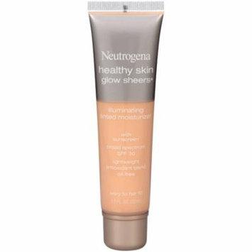 6 Pack - Neutrogena Healthy Skin Glow Sheers Illuminating Tinted Moisturizer, SPF 30, Ivory to Fair [10] 1.1 oz