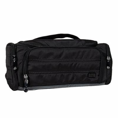 Lug Women's Trolley Toiletry Case, Brushed Black