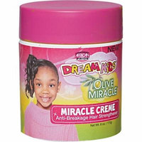 6 Pack - African Pride Dream Kids Olive Miracle Creme 6 oz