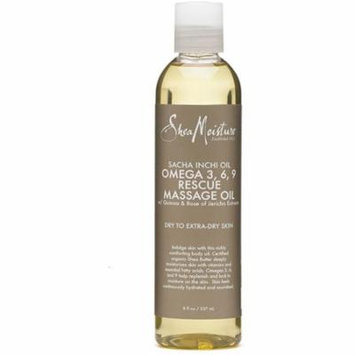 6 Pack - Shea Moisture Omega 3, 6, 9 Rescue Massage Oil 8 oz