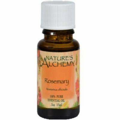 4 Pack - Nature's Alchemy Essential Oil, Rosemary .5 oz