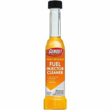 4 Pack - Gumout High Mileage Fuel Injector Cleaner 6 oz