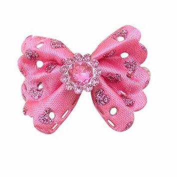 DZT1968Girls Princess Handmade butterfly Hair Clip Headdress For American Girl Doll PK