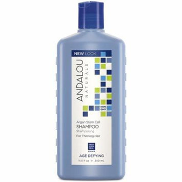 4 Pack - Andalou Naturals Age Defying Shampoo with Argan Stem Cells 11.5 oz