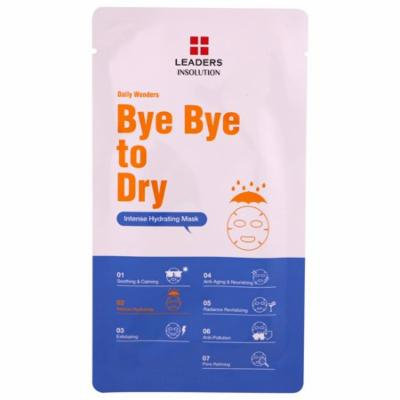 Leaders, Bye Bye to Dry, Intense Hydrating Mask, 1 Mask, .84 fl oz (pack of 12)