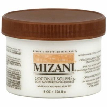 MIZANI Coconut Souffle Light Moisturizing Hairdress, 8 oz (Pack of 2)