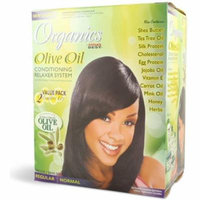 2 Pack - Africa's Best Organics Olive Oil Conditioning Relaxer System, Regular 2 ea
