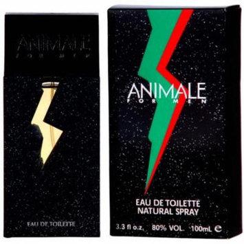 3 Pack - Animale Parfums Eau De Toilette Spray For Men 3.3 oz