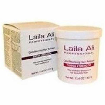 6 Pack - Laila Ali Super Strength Conditioning Hair Relaxer Kit, 15 oz