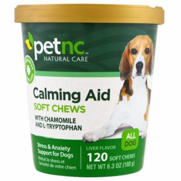21st Century, Pet Natural Care, Calming Aid Soft Chews, Liver Flavor, For Dogs, 120 Soft Chews(pack of 4)