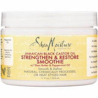 2 Pack - Shea Moisture Jamaican Black Castor Oil Smoothie 12 oz