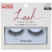 2 Pack - KISS Lash Couture Faux Mink Lashes, Little Black Dress 1 ea