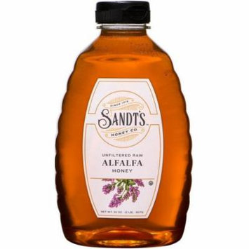 2 Pack - Sandt's Unfiltered Raw Alfalfa Honey 32 oz