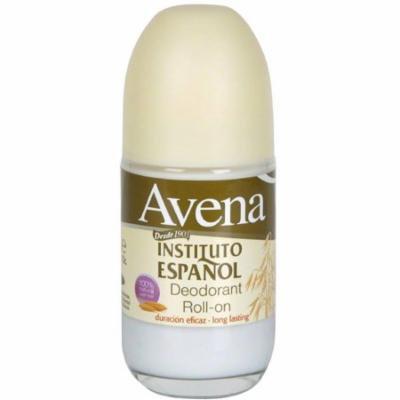 2 Pack - Avena Instituto Espanol Roll-on Deodorant 2.5 oz