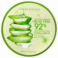 Nature Republic, Soothing & Moisture Aloe Vera 92% Soothing Gel, 10.56 fl oz(pack of 4)