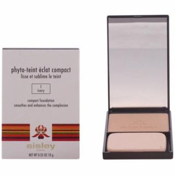 2 Pack - Sisley Phyto Teint Eclat Compact Foundation, Ivory 0.35 oz
