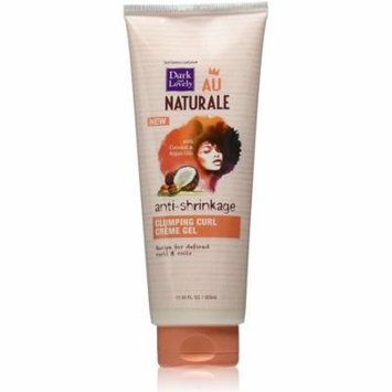 3 Pack - Dark and Lovely Au Naturale Anti-Shrinkage Clumping Curl Creme Gel 11.05 oz