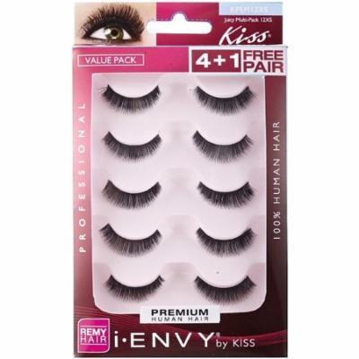 6 Pack - KISS I Envy Juicy Multi Pack Volume Eyelashes 5 ea
