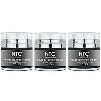 Ultimate Anti Aging Formula - Phytoceramides Facial Cream with Natural Ceramides, Rosemary & Balm Mint, Hyaluronic Acid and Retinol for Perfect Hydration and Eternal Youth | Pack of 3 | 3 oz |