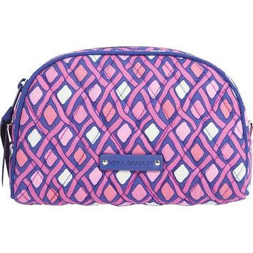 Vera Bradley Small Zip Cosmetic Bag in Katalina Pink Diamonds
