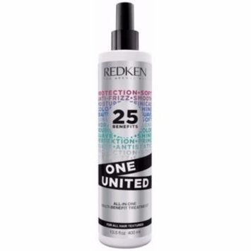 2 Pack - Redken One United All-in-One Multi Benefit Treatment 13.5 oz