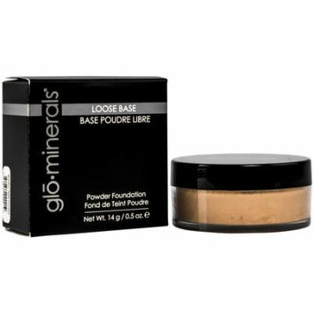 Glo Minerals Loose Base Powder Foundation Golden Light 0.5 oz- New in Box