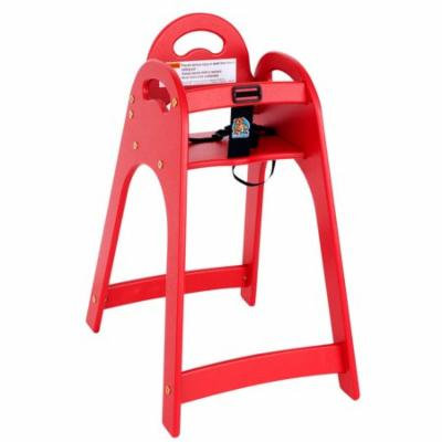 TableTop King KB105-03 Designer High Chair - Red